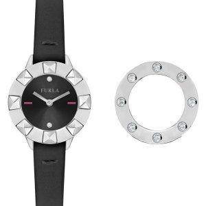 Furla Club kvartsi Diamond aksentti R4251116505 naisten Watch