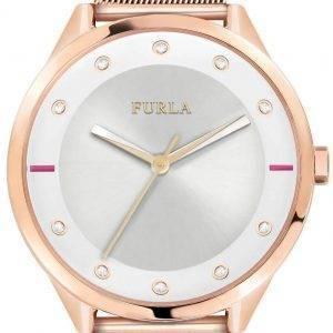 Furla Pin R4253102525 kvartsi Diamond aksentti naisten Watch