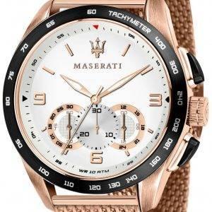 Maserati Traguardo R8873612011 Chronograph nopeusmittarin kvartsi miesten katsella
