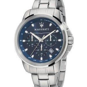 Maserati Successo Chronograph nopeusmittarin Quartz R8873621002 Miesten Watch