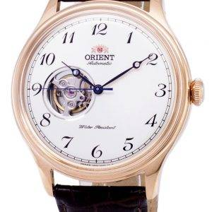 Orient analoginen avoimin sydämin automaattinen Japanissa valmistettu RA-AG0012S00C Miesten Watch