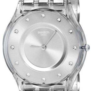 Swatch ihon Classic Silver laatikko Quartz SFK393G naisten Watch