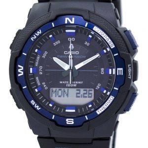 Casio välitys hengen anturi World Time analoginen digitaalinen SGW 500H 2BV Miesten kello