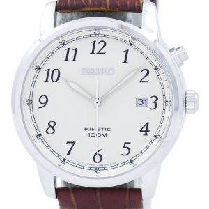 Seiko kineettinen analoginen SKA779 SKA779P1 SKA779P Miesten Watch