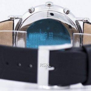 Seiko Premier Chronograph kvartsi hälytys SNAF77 SNAF77P1 SNAF77P Miesten Watch