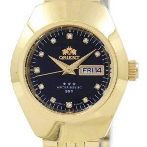 Orient automaattinen Diamond aksentti SNQ22001B8 naisten Watch
