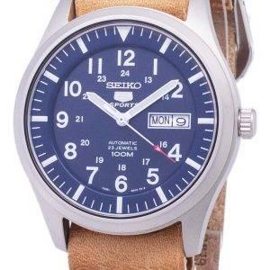 Seiko 5 urheilu SNZG11K1 LS18 automaattinen ruskea nahka hihna Miesten Watch