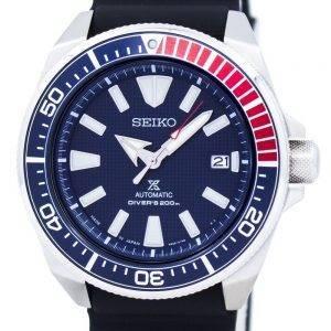 Seiko Prospex Samurai automaattisen sukeltajat 200M Japani teki SRPB53 SRPB53J1 SRPB53J Miesten Watch