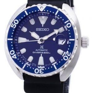 Seiko Prospex Mini kilpikonna automaattinen Diver 200M Japani teki SRPC39J SRPC39J1 SRPC39 Miesten Watch
