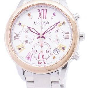 Seiko Lukia Limited Edition SRWZ82 SRWZ82P1 SRWZ82P Chronograph naisten Watch