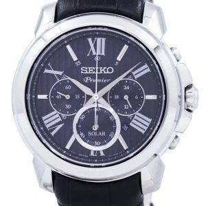 Seiko Premier Solar Chronograph SSC597P2 Miesten Watch