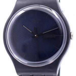 Swatch alkuperäiset musta Rebel Sveitsin kvartsia SUOB702 Unisex kello