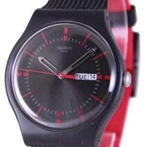 Swatch alkuperäiset GAET Sveitsin kvartsia SUOB714 Unisex kello