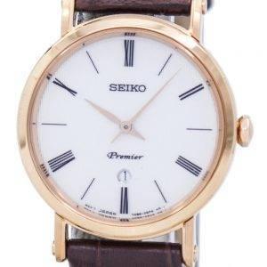 Seiko Premier Quartz SXB436 SXB436P1 SXB436P naisten Watch