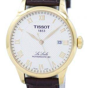 Tissot T-Classic Le Locle Powermatic 80 automaattinen T006.407.36.263.00 T0064073626300 Miesten Watch