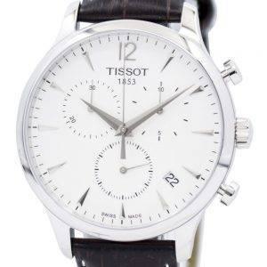 Tissot perinne Chronograph T063.617.16.037.00 Miesten kello