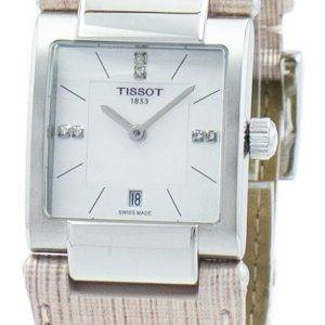 Tissot T-Lady T02 kvartsi Diamond aksentti T090.310.16.116.00 T0903101611600 naisten Watch
