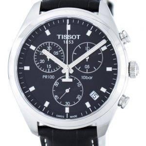 Tissot T-Classic PR100 kvartsi Chronograph T101.417.16.051.00 T1014171605100 Miesten Watch