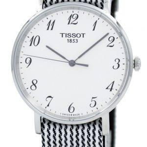 Tissot T-Classic aina Medium T109.410.18.032.00 T1094101803200 Unisex kvartsikellot