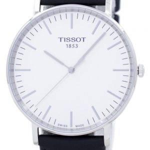 Tissot T-Classic aina suuri Quartz T109.610.16.031.00 T1096101603100 Miesten Watch