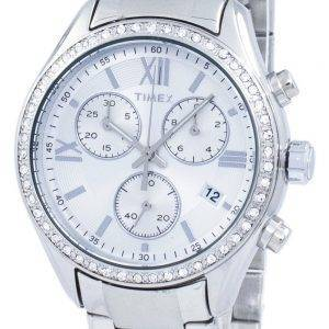 Timex Miami Chronograph kvartsi Diamond aksentti TW2P66800 naisten Watch