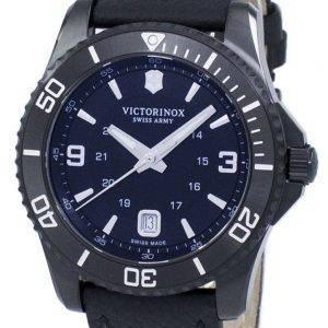 Victorinox Maverick suuri Black Edition Sveitsin armeijan Quartz 241787 Miesten Watch