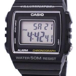 Casio Digital hälytys Chronograph W-215H-1AVDF W-215H-1AV Unisex kello