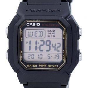 Casio Digital hälytys valaisin 9AVDF / 800HG/W W 800HG 9AV Miesten kello