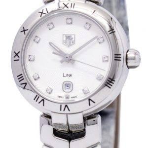 Tag Heuer Link rannerengas Diamond Dial WAT1411. FC6316 Naisten kello