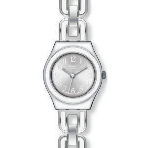 Swatch ironiaa valkoinen ketjun Quartz YSS254G naisten Watch