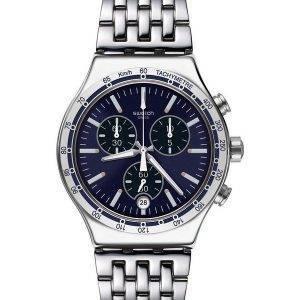 Swatch ironiaa mekko minun ranne Chronograph nopeusmittarin YVS445G Miesten kellot