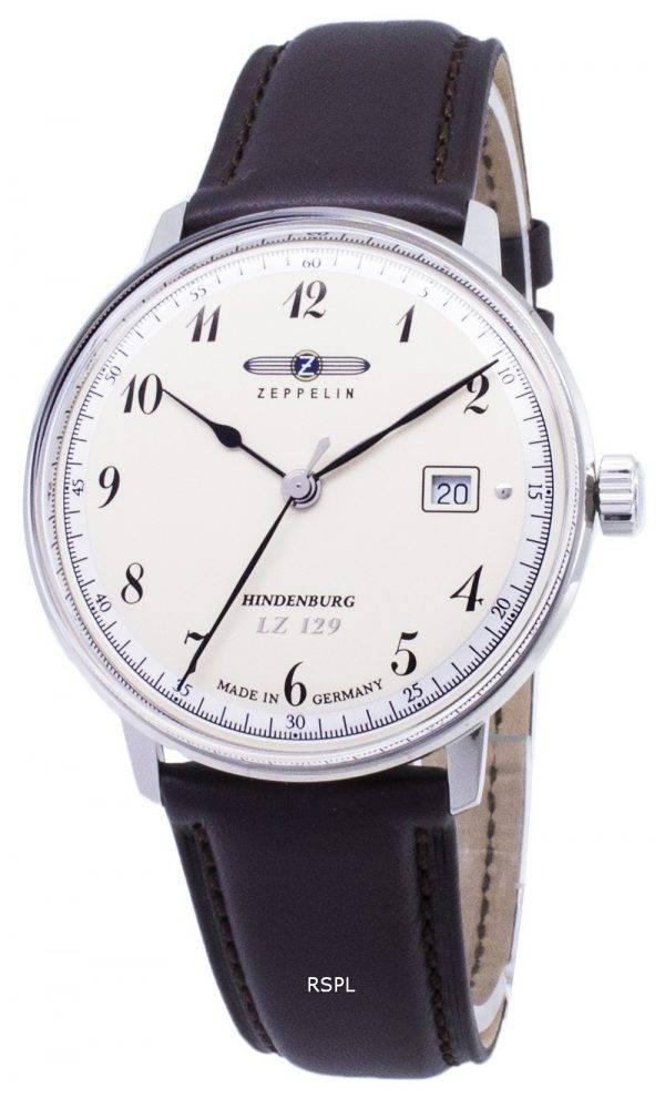 Zeppelin sarjan LZ129 7046 4 70464 Saksa teki Miesten Watch