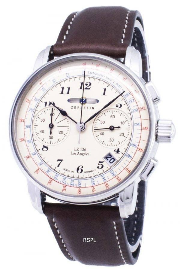 Zeppelin sarjan LZ126 7614-5 76145 Saksa teki Miesten Watch