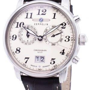 Zeppelin sarjan LZ127 Graf Saksa teki 7684-5 76845 Miesten Watch