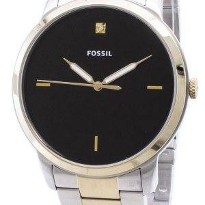 Fossiilisten minimalistinen FS5458 kvartsista analoginen Miesten Kello