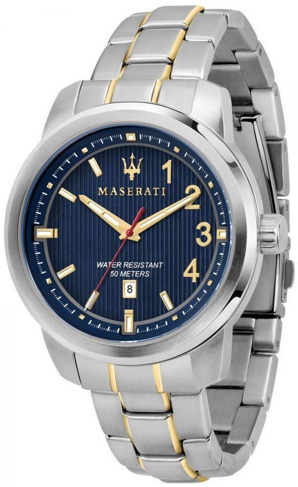 Maserati Royale R8853137001 kvartsista analoginen Miesten Kello