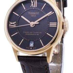 Tissot T-Classic Powermatic 80 T 099.207.36.448.00 T0992073644800 automaattinen Naisten Kello