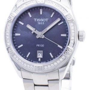 Tissot T-Classic PR 100 Lady Sport T 101.910.61.121.00 T1019106112100 Diamond aksentti kvartsi Naisten Kello
