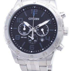 Citizen Quartz AN8130-53E Chronograph analoginen Miesten Kello