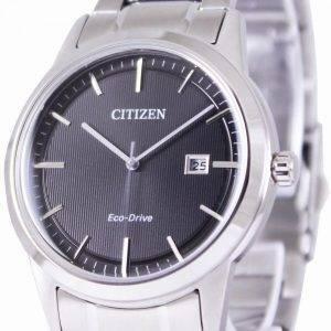 Citizen Eco-Drive Black Dial AW1231 58E Miesten kello