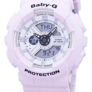 Casio Baby-G iskunkestävä aika analoginen digitaalinen BA-110BE-4A naisten kello