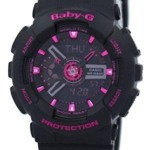 Casio Baby-G World Time analoginen-digitaalinen BA-111-1A naisten kello