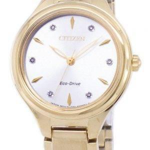 Citizen Corso Eco-Drive Diamond aksentti FE2102-55A naisten kello