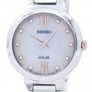 Seiko aurinko timantti aksentti SUP381 SUP381P1 SUP381P naisten kello
