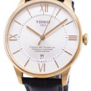 Tissot T-Classic Chemin des Tourelles T 099.408.36.038.00 T0994083603800 Powermatic 80 miesten Kello