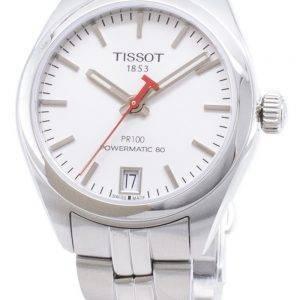 Tissot PR 100 Aasian kisat painos T 101.207.11.011.00 T1012071101100 Powermatic 80 Naisten Kello