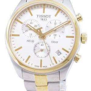 Tissot T-Classic PR 100 T 101.417.22.031.00 T1014172203100 Chronograph kvartsi Miesten Kello