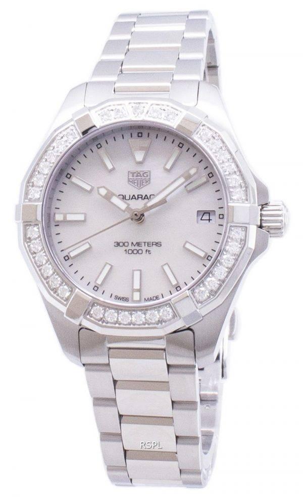 Tag Heuer Aquaracer WBD1313. BA0740 Diamond aksentti kvartsi 300M naisten Kello