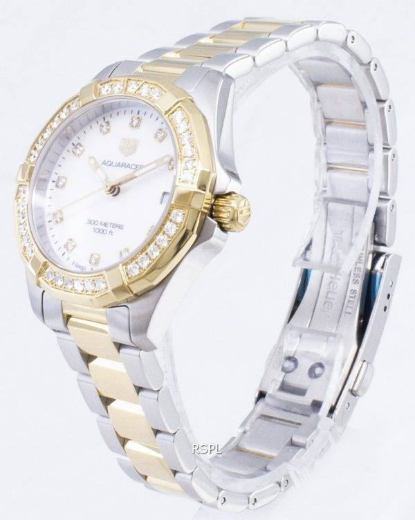 Tag Heuer Aquaracer WBD1323. BB0320 Diamond aksentti kvartsi 300M naisten Kello