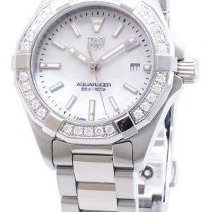 Tag Heuer Aquaracer WBD1413. BA0741 Diamond aksentti kvartsi 300M naisten Kello